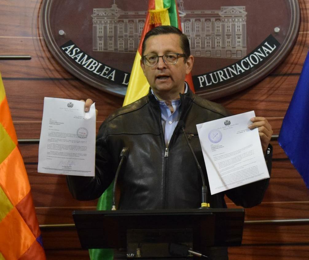 Ortiz envía cartas a Morales y García solicitando declarar Desastre Nacional el incendio en la Chiquitanía
