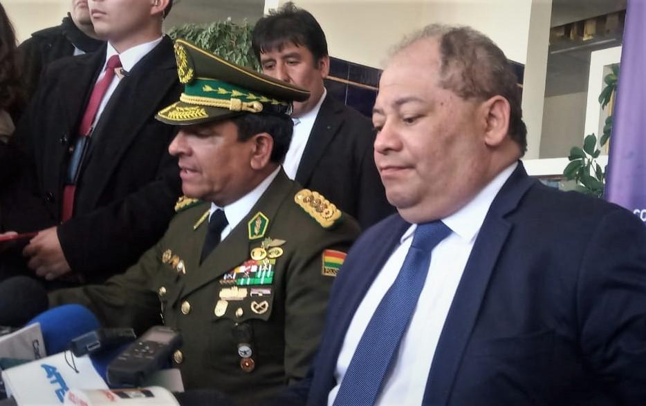 Romero inaugura la primera fase del sistema de seguridad Vol. 110 para reducir el nivel de inseguridad en Bolivia