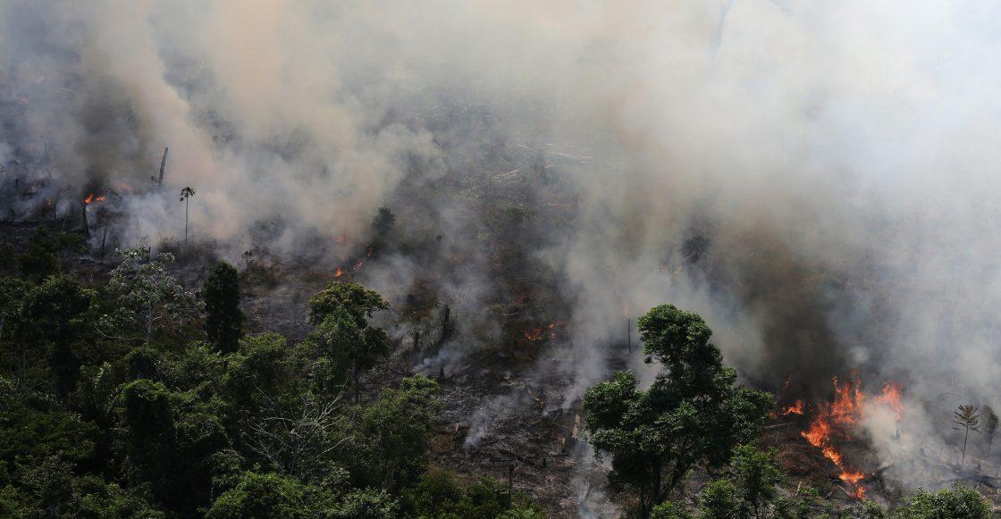 La cumbre del G7 aportará $us 20 millones para ayudar a contener los incendios en el Amazonas