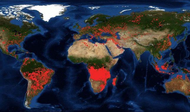África el segundo pulmón del planeta se incendia con mayor intensidad que el Amazonas