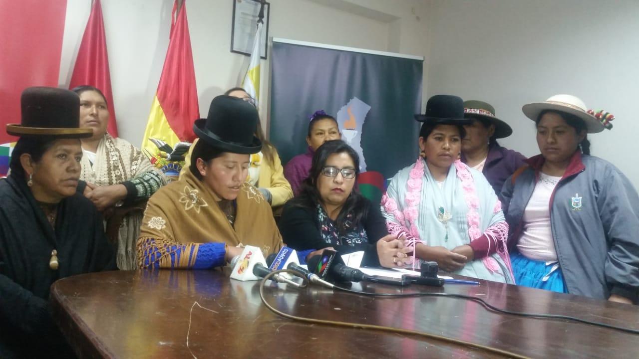 Asamblea Legislativa Departamental emite una resolución en repudio a las declaraciones de Patzi
