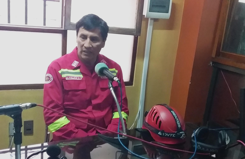 Bomberos presumen que el incendio forestal de Kantutani fue provocado por un error humano