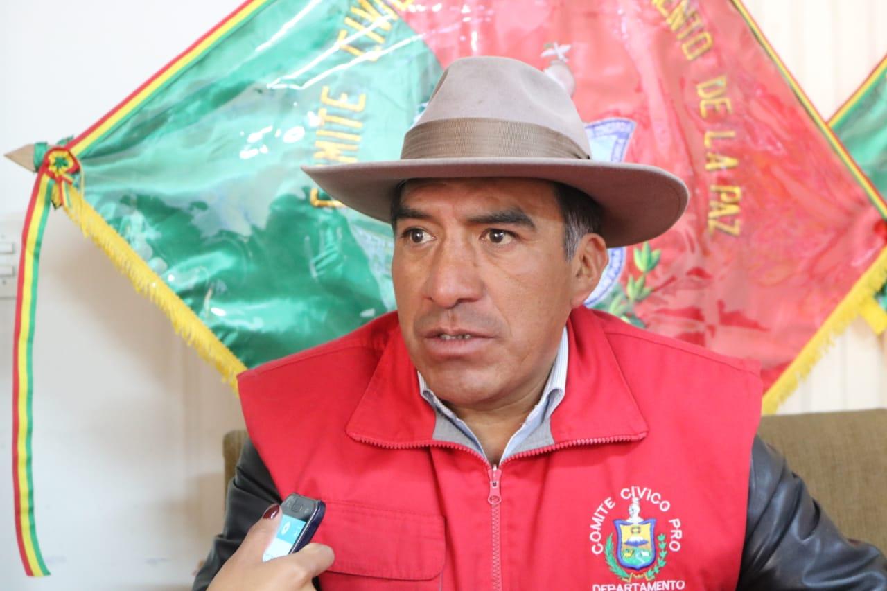 Comité Cívico Departamental advierte que impedirá los próximos bloqueos de CONADE