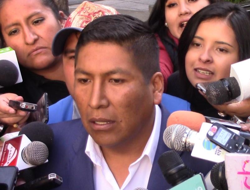 Comunarios de Achocalla amenazan con bloquear el ingreso al relleno sanitario de Alpacoma