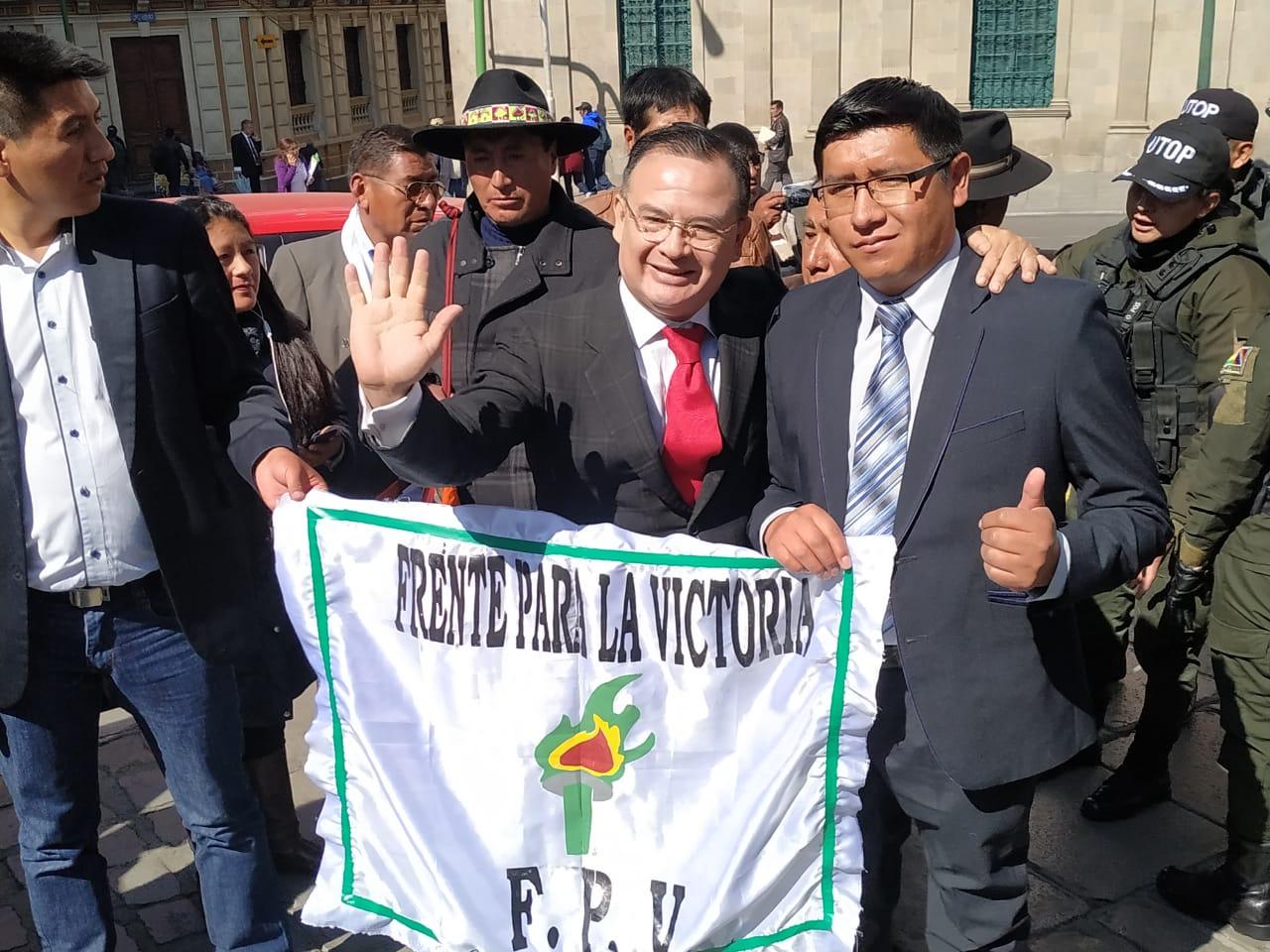 FPV presenta a su candidato a la vicepresidencia para las elecciones de octubre