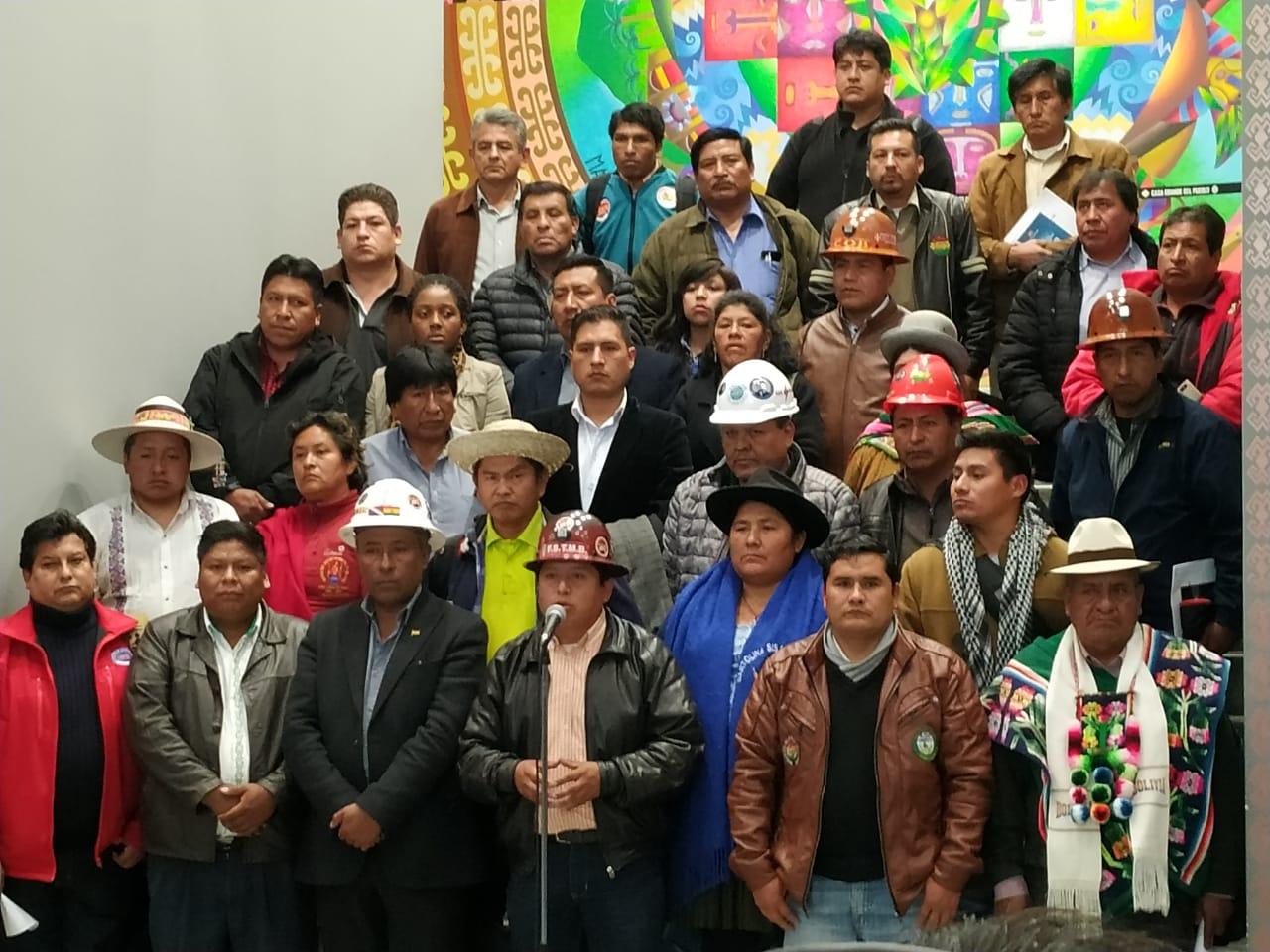 MAS anuncia el cierre de su campaña para el próximo 15 de octubre en Santa Cruz y el 16 en La Paz y Cochabamba