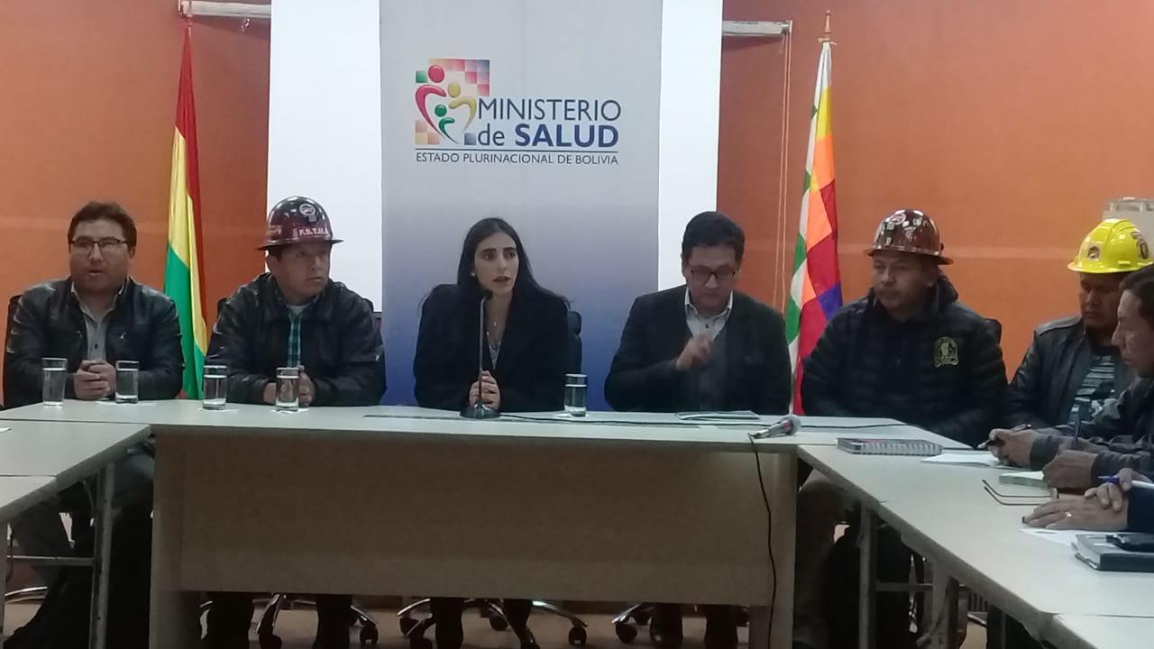 Ministerio de Salud envía media tonelada de insumos médicos para la población afectada por el incendio en Chiquitanía