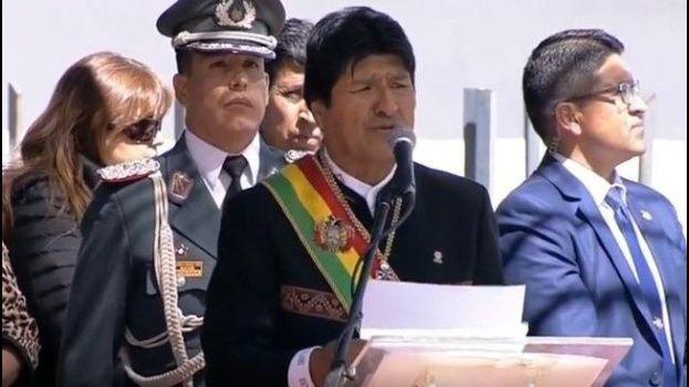 Morales anuncia la creación de un Ministerio de Ciencia y Tecnología