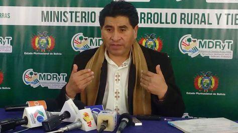 Oposición solicita una interpelación al ministro Cocarico para que responda sobre supuestas irregularidades en el INRA
