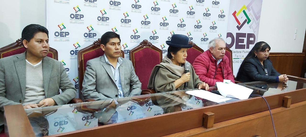 TSE aprueba la sustitución de candidatos a la presidencia y vicepresidencia