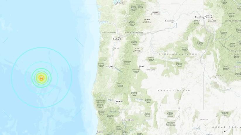 Un temblor de magnitud sacude la costa noroeste de EE. UU