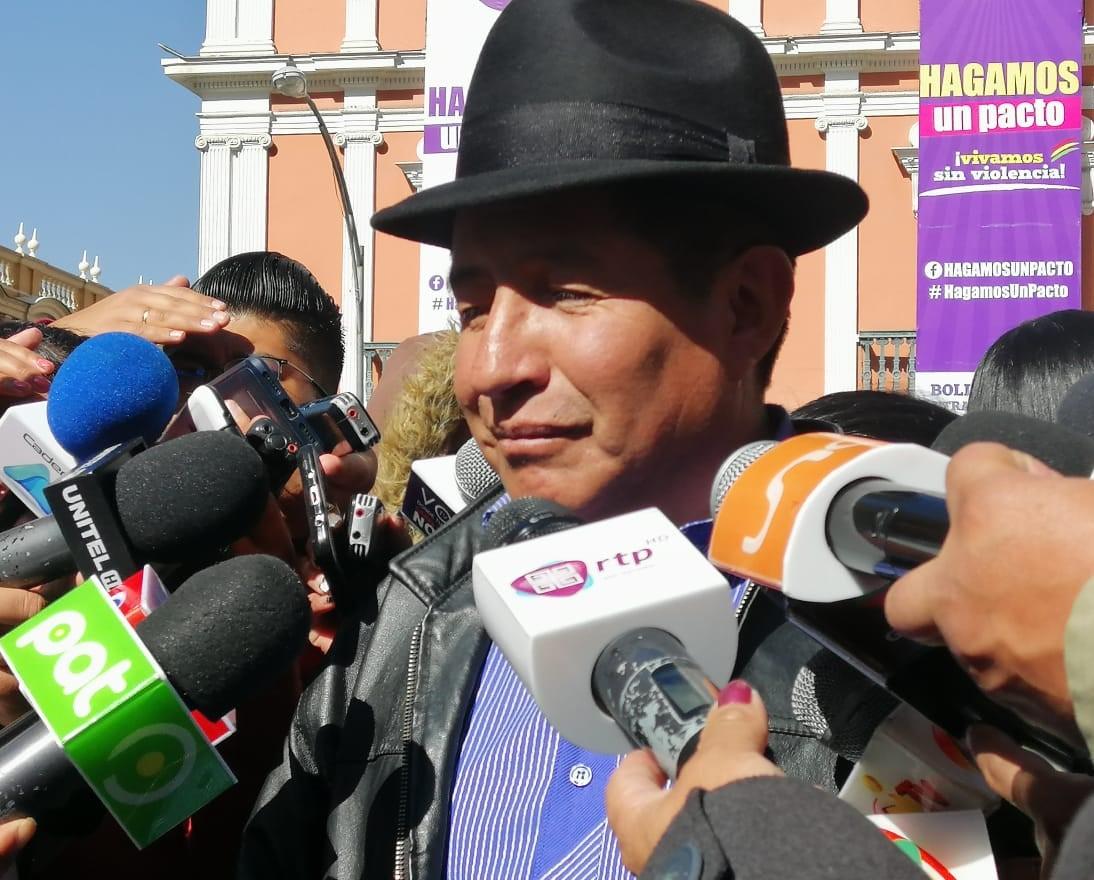 Según Quispe la concentración del MAS para este sábado será obligatorio para sus funcionarios