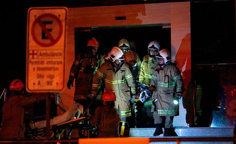 10 fallecidos se registraron en un incendio en un hospital de Rio de Janeiro