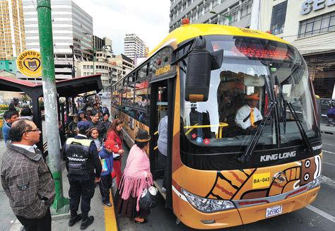 Alcaldía plantea convocar una consulta ciudadana sobre el transporte público