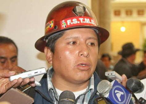 COB pide militarizar Huanuni para reforzar controles contra ladrones de minerales