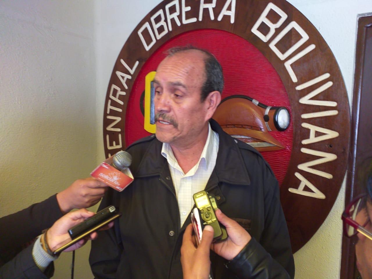 COB se une a la solicitud de declarar desastre nacional a los incendios en Santa Cruz