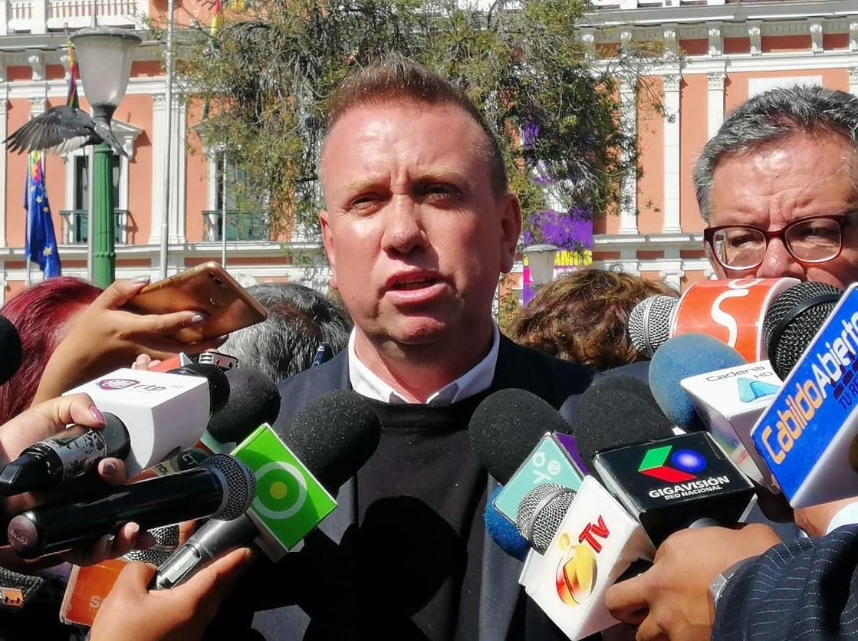 Candidato a la presidencia por MNR denuncia presuntos contubernios entre el MAS, Comunidad Ciudadana y Bolivia Dice No