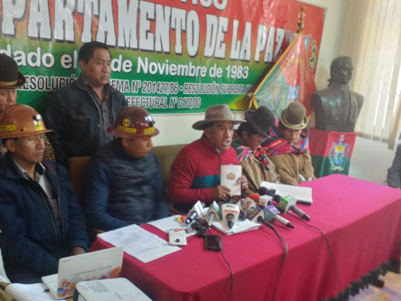 Comité Cívico Departamental asegura que Mesa trasladará la sede de Gobierno a Chuquisaca si gana las elecciones