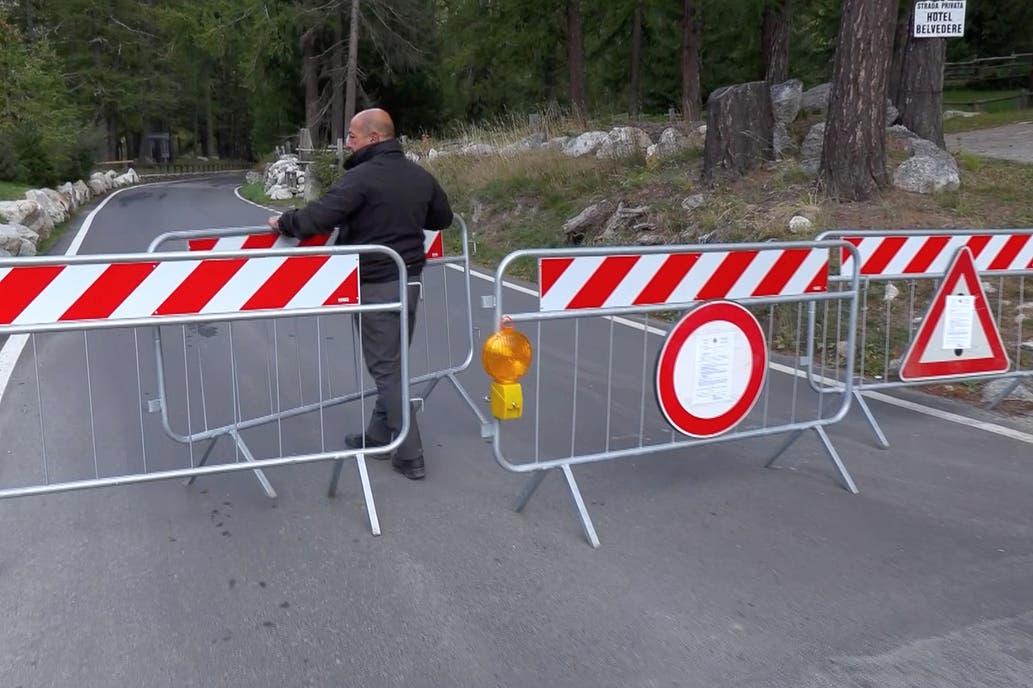 Derretimiento de glaciar pone en alerta a una región de Italia