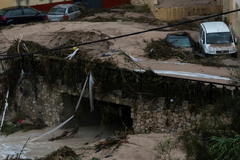 Lluvias torrenciales en España dejan dos muertos