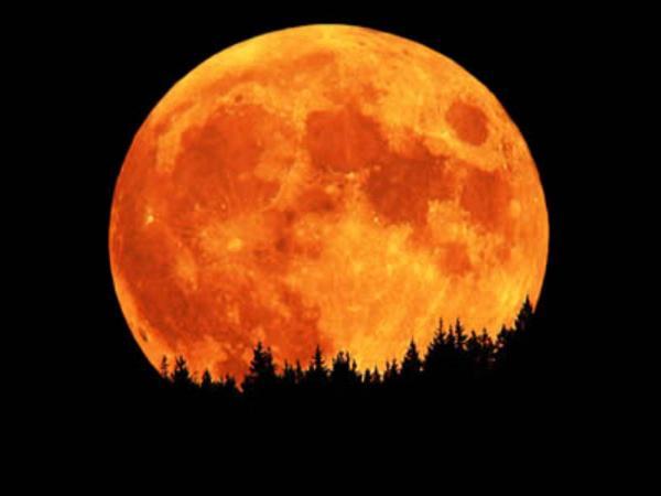 """El próximo viernes 13 habrá """"luna de cosecha"""""""