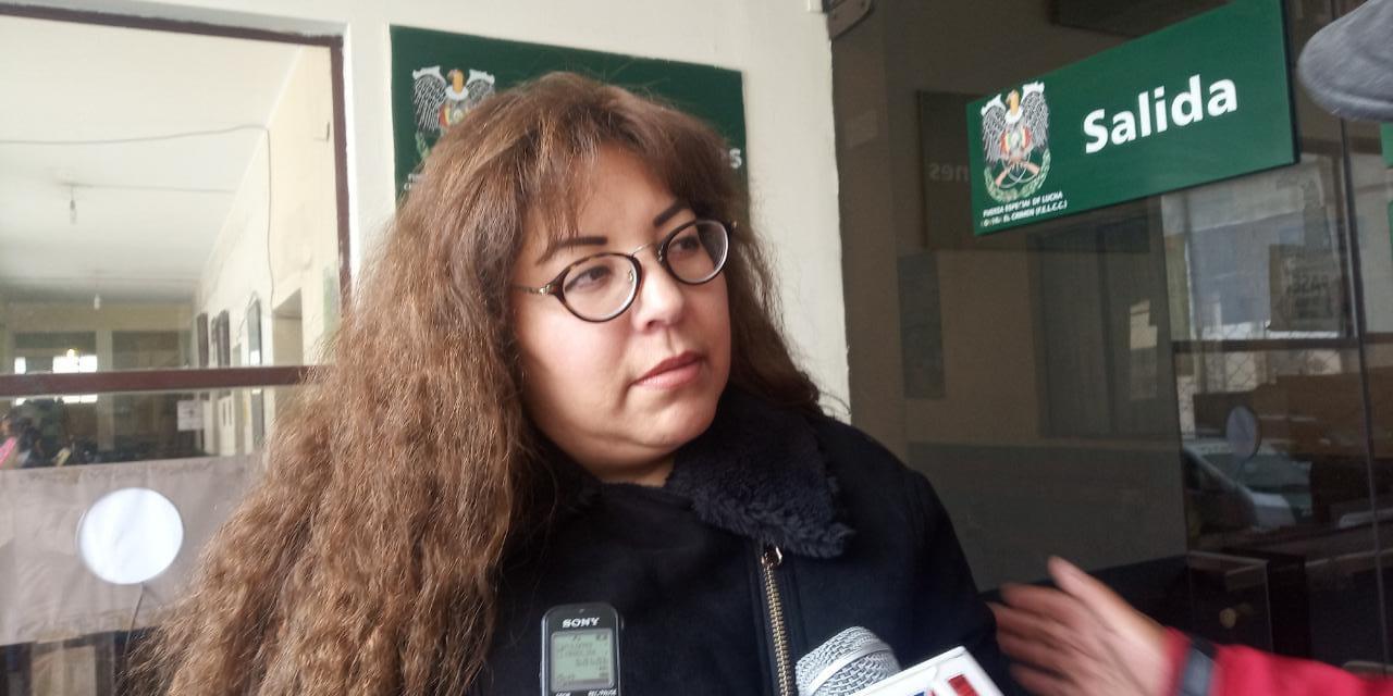 Esposa del concejal Siñani recurrirá a una apelación contra la resolución del Juzgado Anticorrupción respecto al caso Tersa