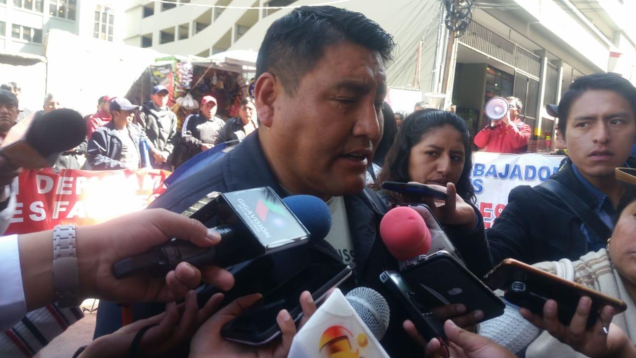 Fabriles advierten con movilizaciones desde la próxima semana si no reincorporan a 5 trabajadores retirados de la empresa Illampu