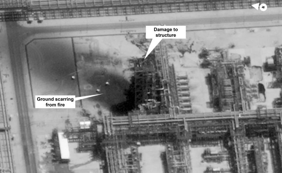 Incrementa el precio del petróleo tras el ataque a una de las mayores refinerías de Arabia Saudita
