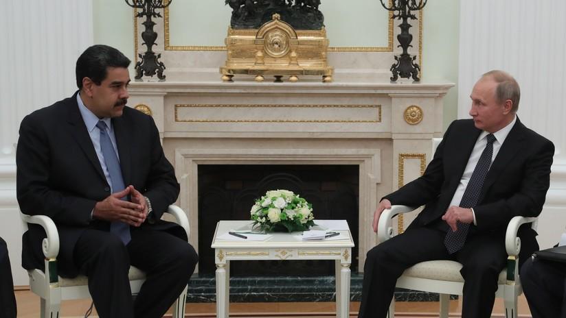 Maduro se reunirá con Putin para discutir el fomento de las relaciones bilaterales y asuntos de importancia regional