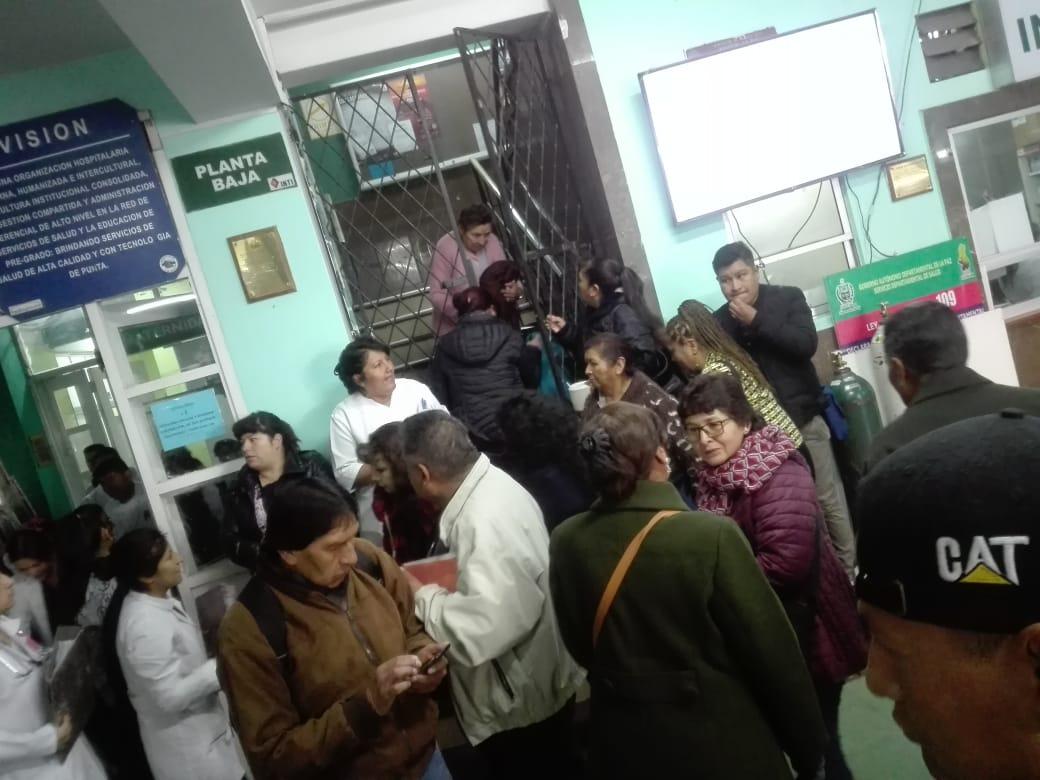 Médicos del hospital La Paz denuncian que la Alcaldía realizó una mala administración de recursos