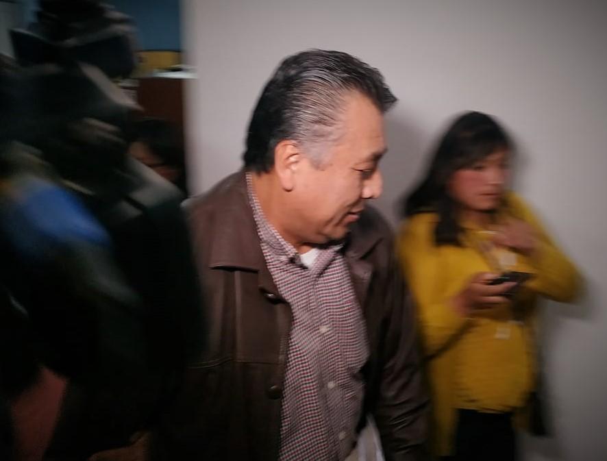 Michel Durán denuncia al exmagistrado Wilbert Choque por presunta extorsión y chantaje