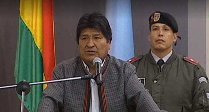Morales denuncia supuesta conspiración contra la democracia tras los enfrentamientos en Santa Cruz