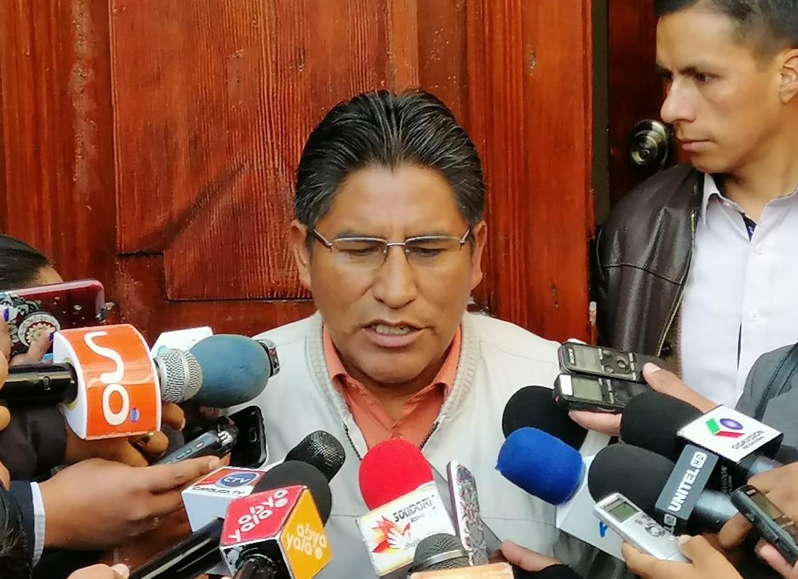 Patzi considera que el TSE determinará la sanciones al candidato del partido Comunidad Ciudadana