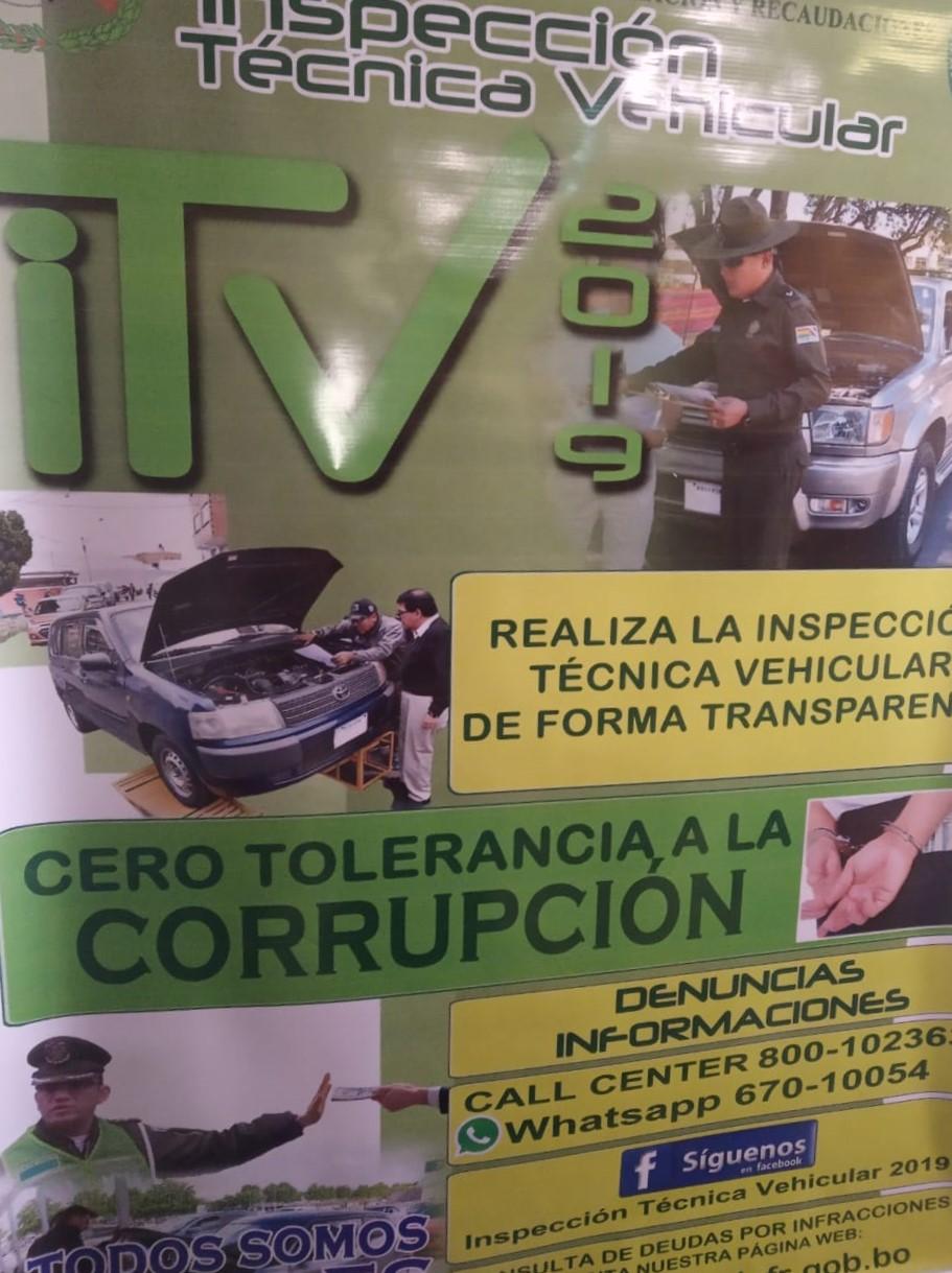 Policía incorporará dispositivos tecnológicos en la inspección técnica vehicular