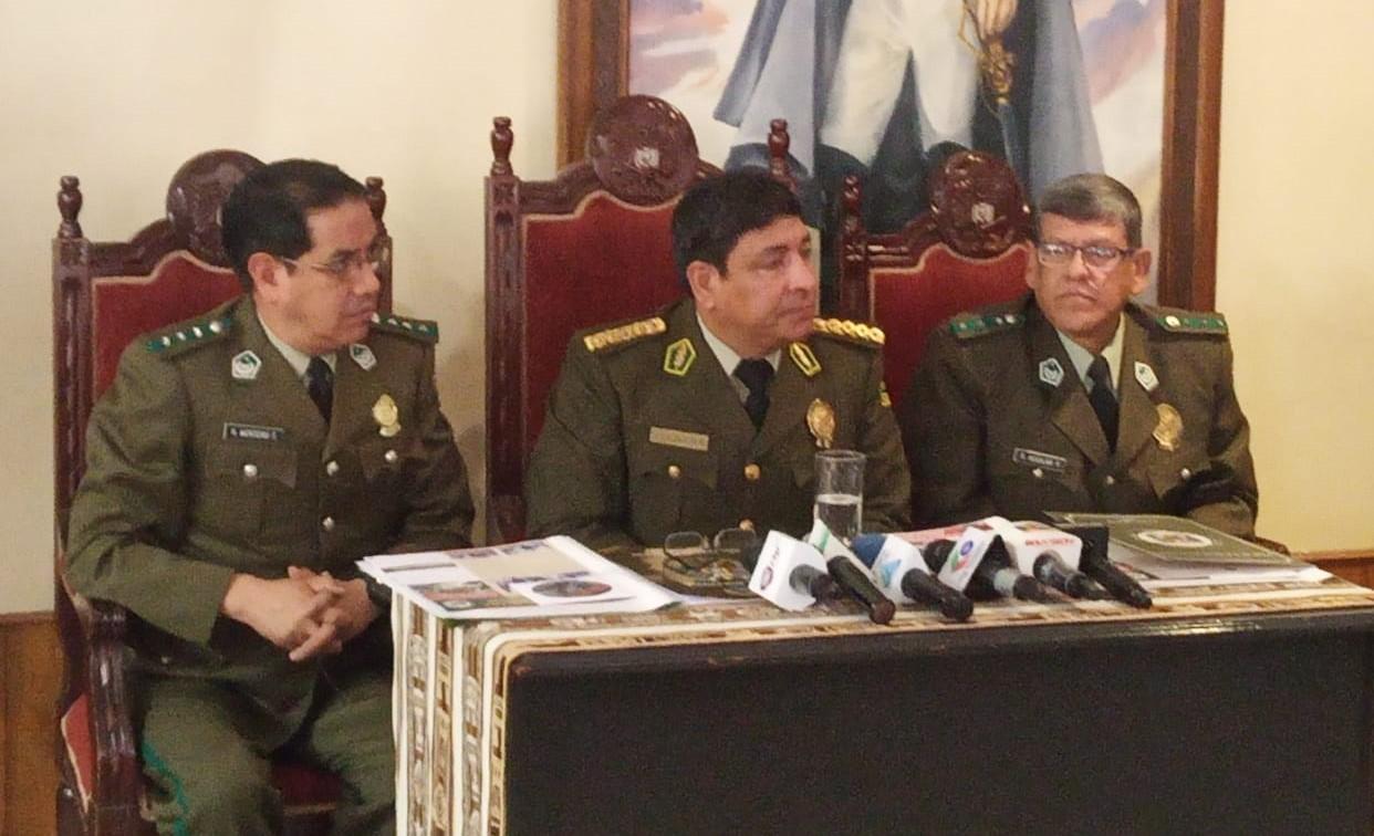 Policía brindará equipos e insumos necesarios a voluntarios en la Chiquitanía a raíz de la reactivación de algunos focos de calor
