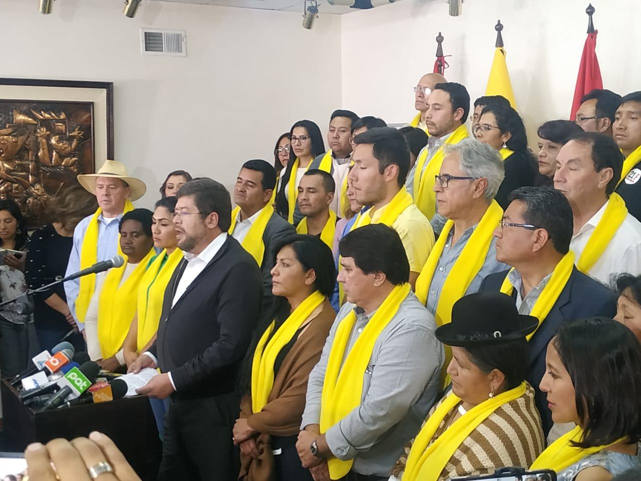 UN decide apoyar a Carlos Mesa para las próximas elecciones
