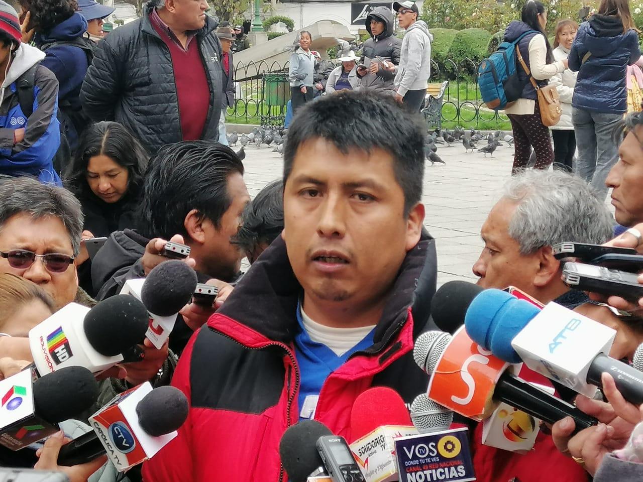 Víctor Yana responsabiliza a CC por conflictos en Chulumani