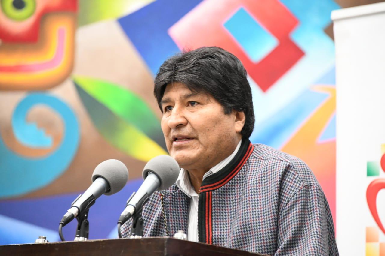 El Presidente Morales promulgó Ley del Cáncer