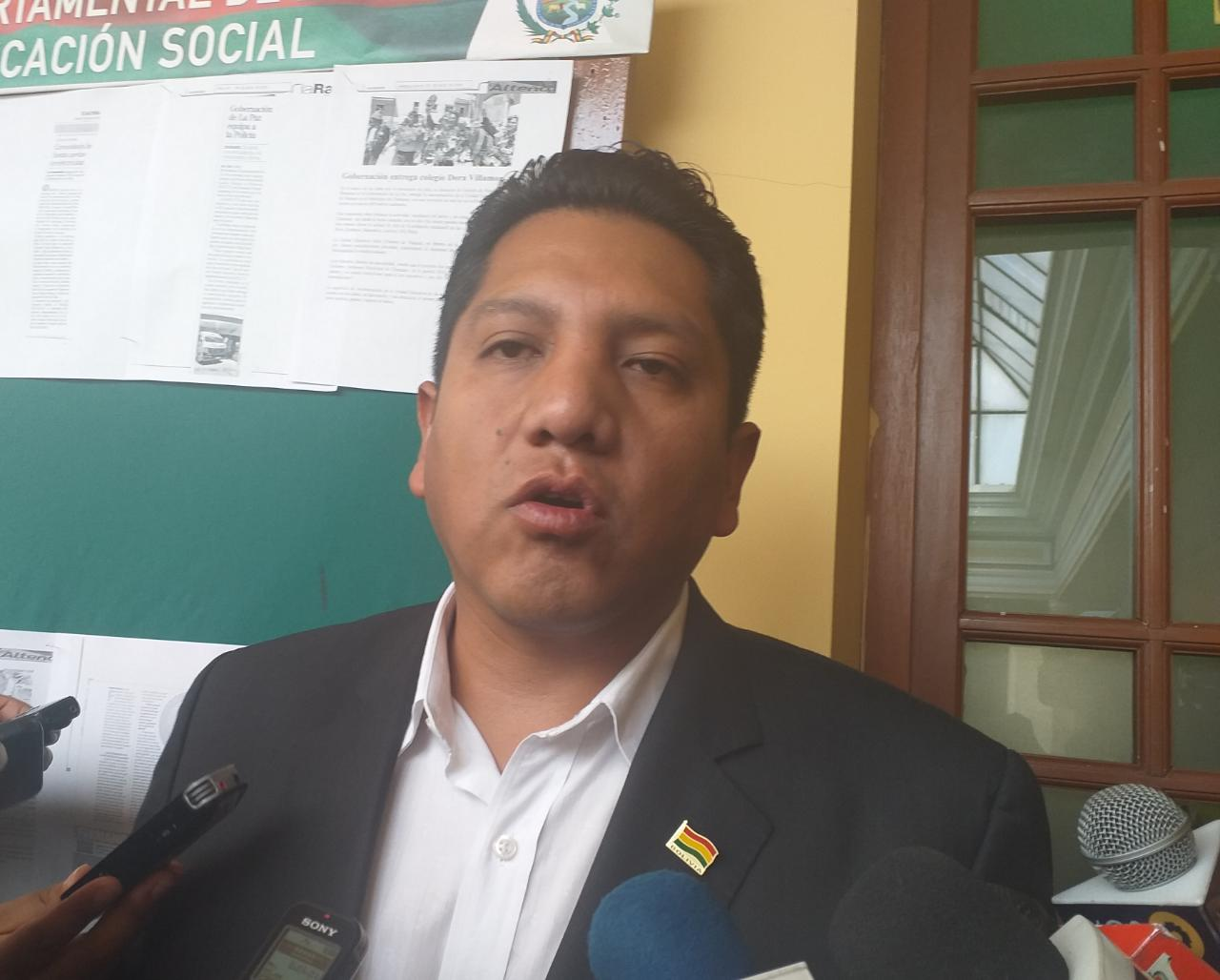 Asambleístas anuncian proceso legal contra Patzi por ausentarse a su presentación de informe oral sobre el acelerador lineal