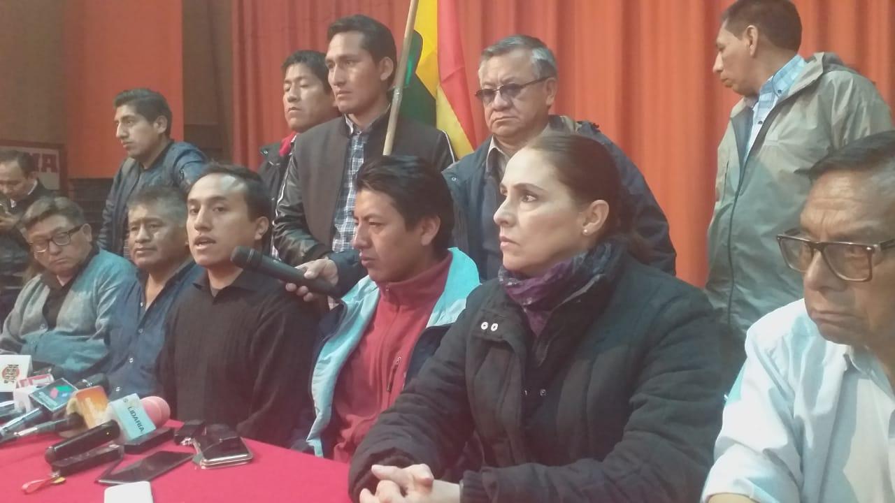 Cívicos no aceptarán los resultados de la auditoría de la OEA debido su posición sobre la repostulación de Morales