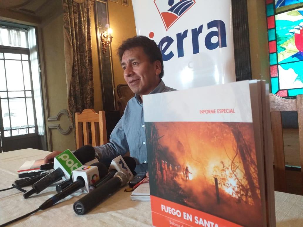 Fundación Tierra concluye que los asentamientos de comunarios y ganaderos tuvieron gran participación en los incendios forestales