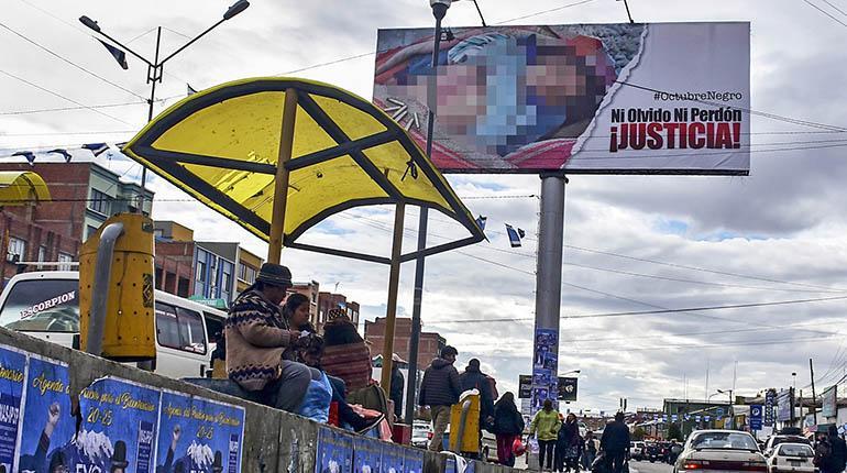 Tribunal Electoral Departamental sancionará el uso de imágenes de Octubre Negro de 2003