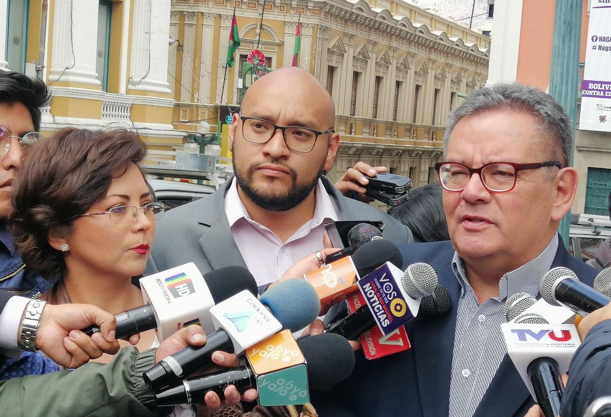 """MNR presenta una aplicación llamada """"No al fraude Bo 2019"""" para hacer un control electoral y evitar el fraude"""