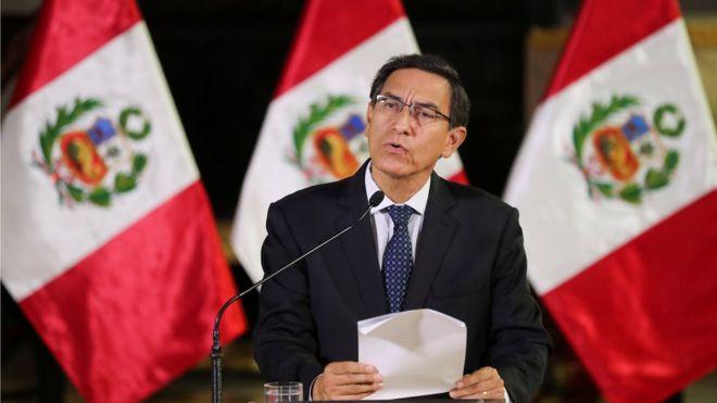 Martín Vizcarra disuelve el Congreso de Perú para llamar a elecciones