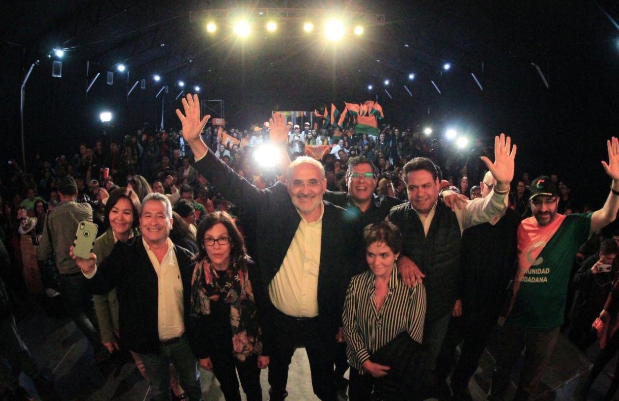 Mesa asegura una segunda vuelta con el MAS y su actual mandatario Evo Morales