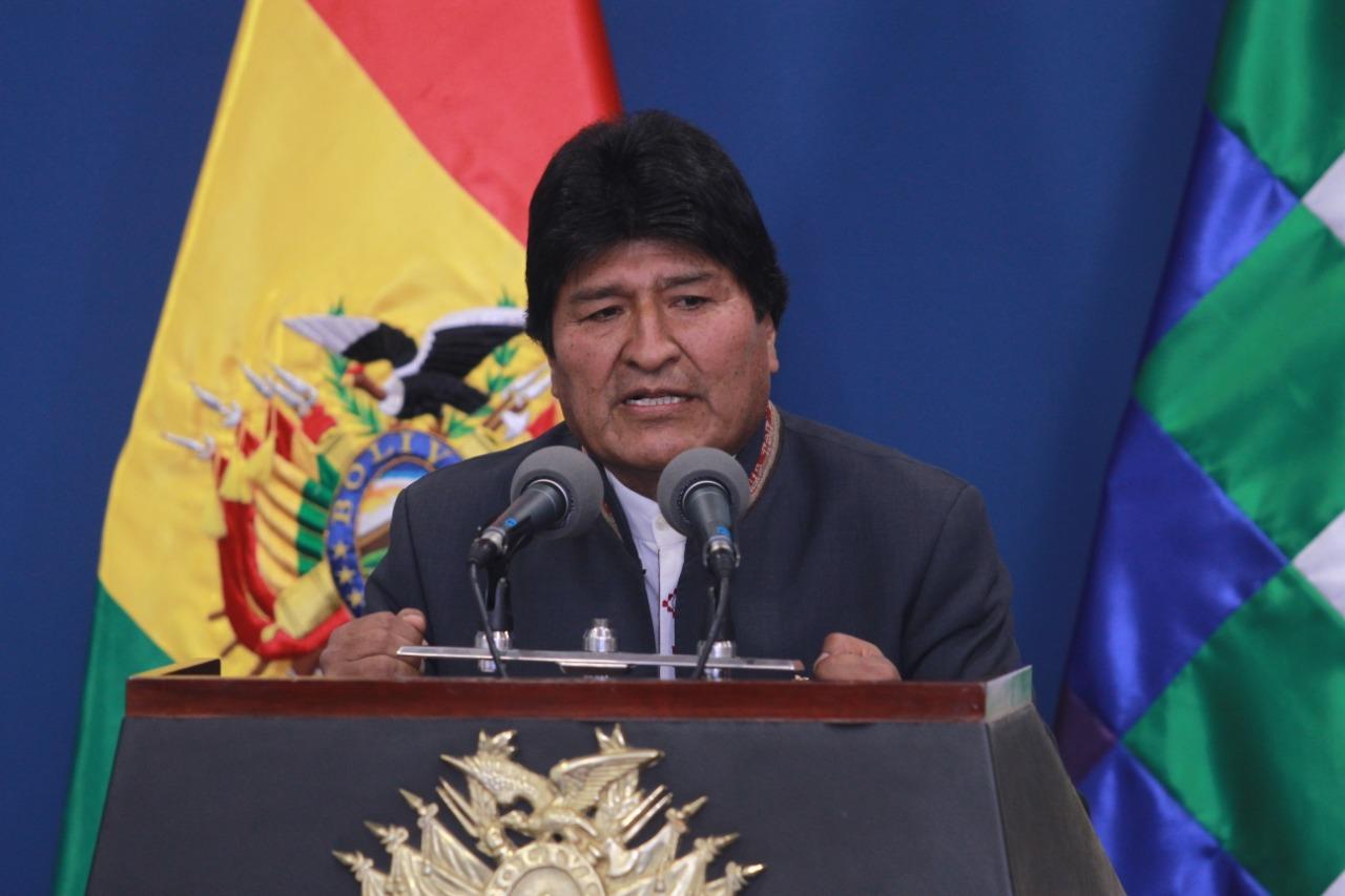 Morales solicita pausar las protestas hasta que termine la auditoría a las elecciones generales