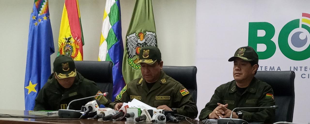 Policía está en alerta tras el anuncio de CONADE que llamó a la resistencia civil por la suspensión del conteo rápido de votos