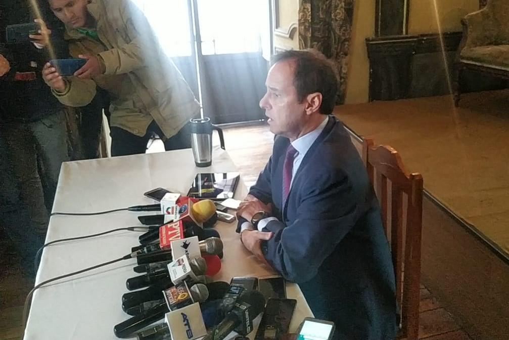 Quiroga considera que Morales es un candidato ilegitimo por violar la Constitución
