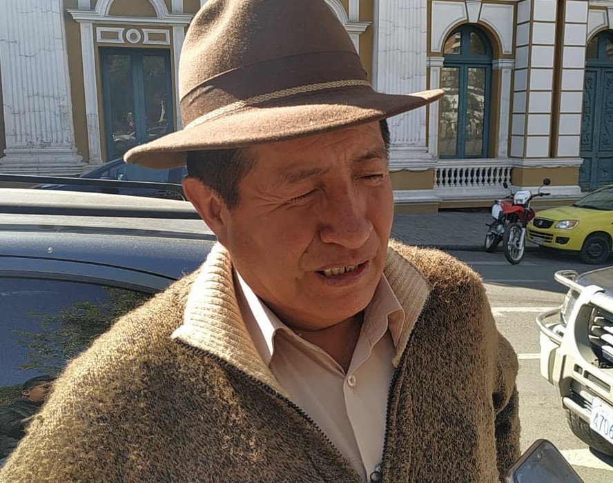 Quispe confirma que la denuncia al gobernador Vásquez fue remitida en Tarija