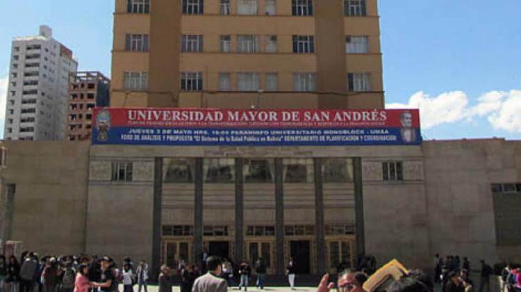 UMSA respaldará todas las movilizaciones que estén en contra de un presunto fraude electoral